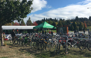 Bicycle Valet photo - Apple Fest 2