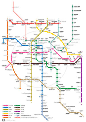 Road Story PHOTO - metro map