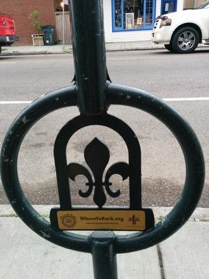 New Orleans bike rack 2