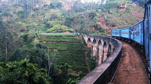 Sri Lanka  photo - nine arch bridge