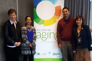 Allies in Aging - Launch photo