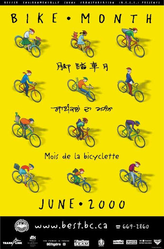 Bike Month Poster 2000