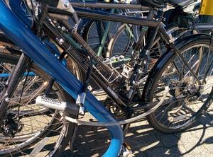 Pro Bike - photo of locked bike