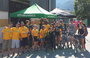 Volunteers at Squamish PHOTO