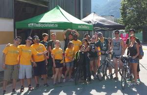 Volunteers at Squamish PHOTO